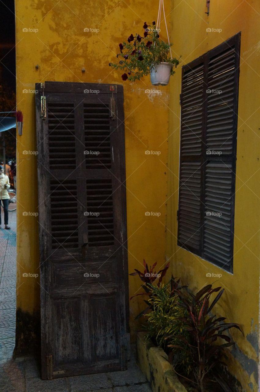 House, Window, Door, No Person, Architecture