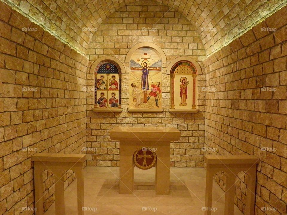 National Shrine chapel