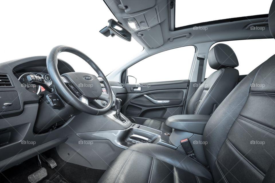 Car interior Ford Kuga