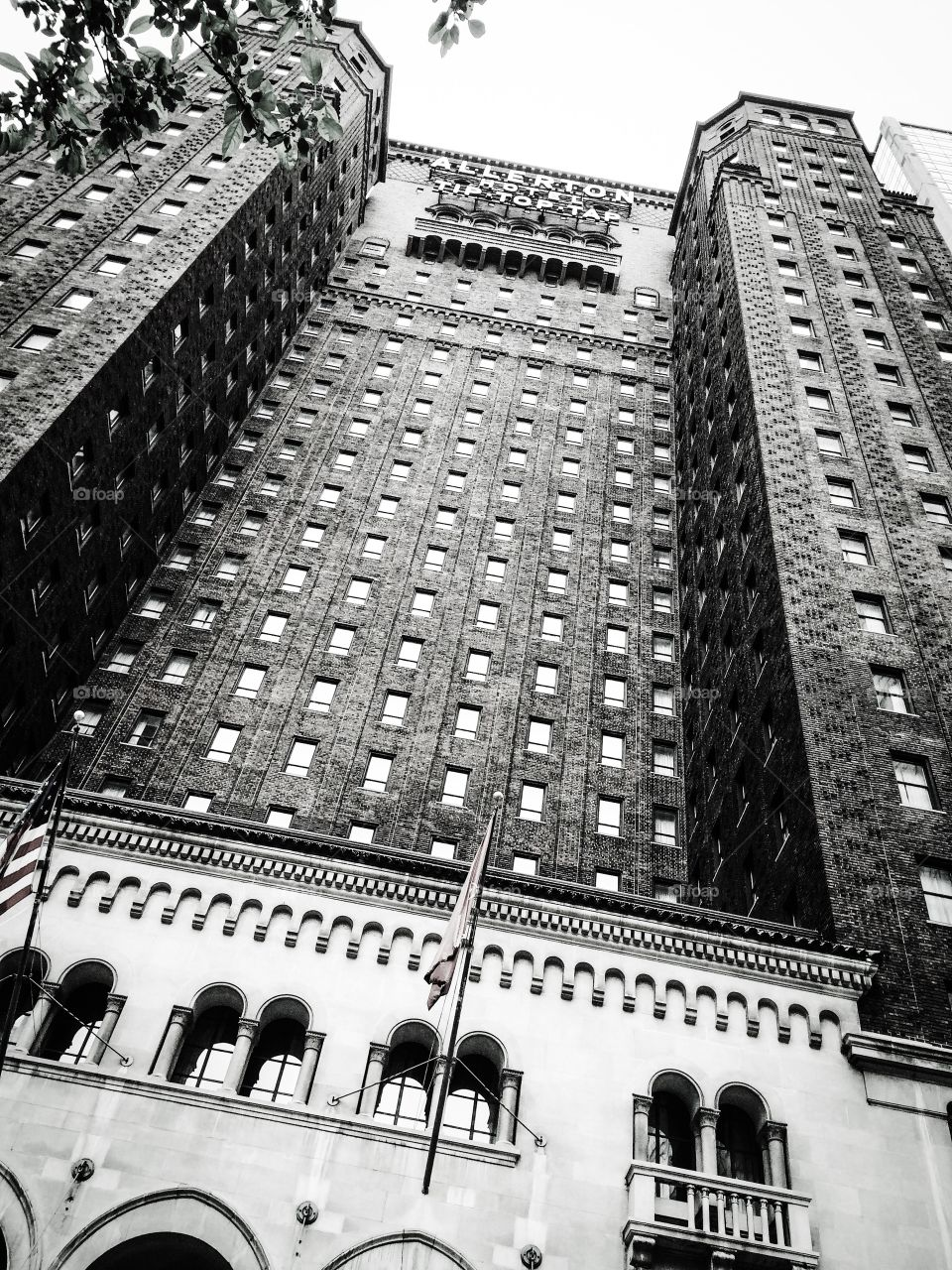 Allerton Hotel, Michigan Avenue, Chicago. Home of the famous Tip Top Tap which unfortunately is no longer open to the public.