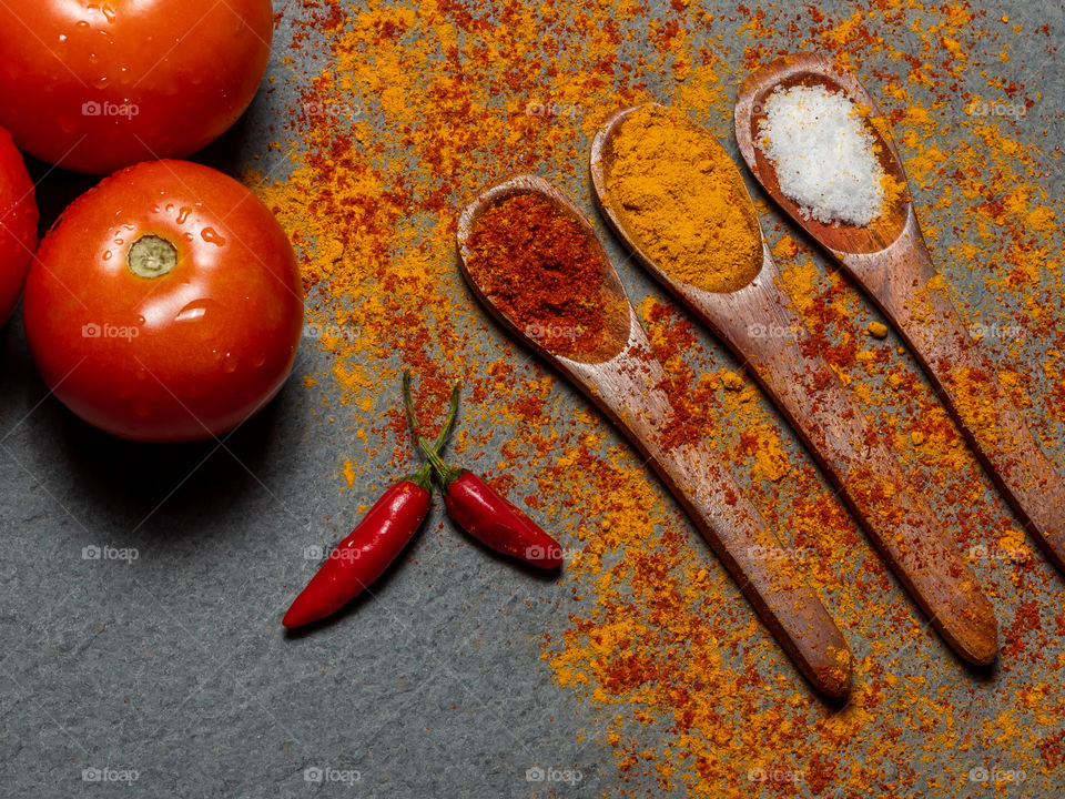 Vegetable & Spices