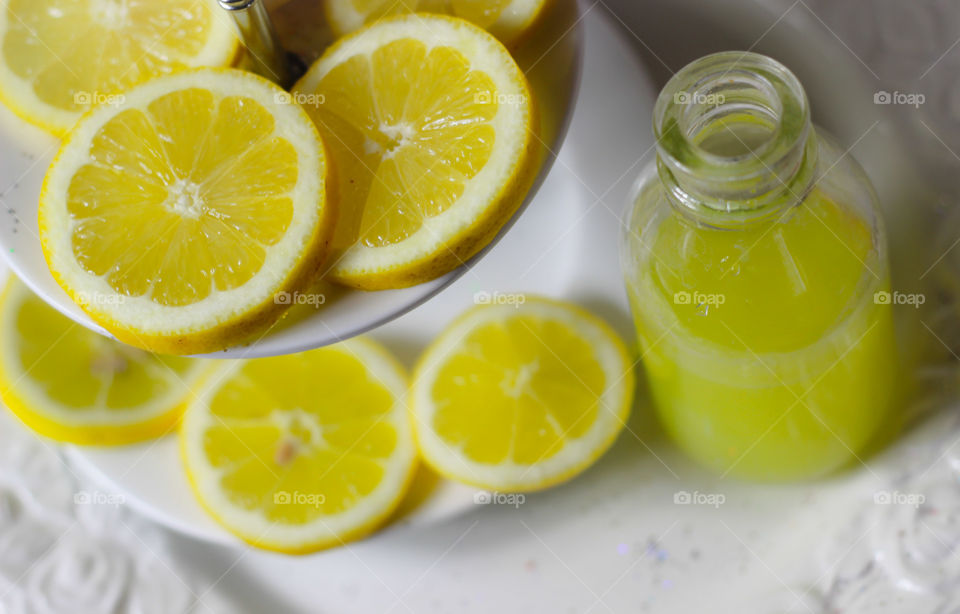 lemons fruit fresh healthy