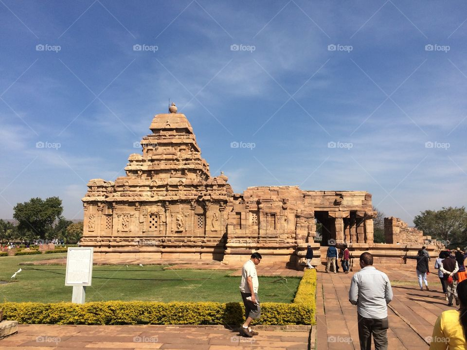 Ancient temples of India. Best known for architecture and carving on stones.