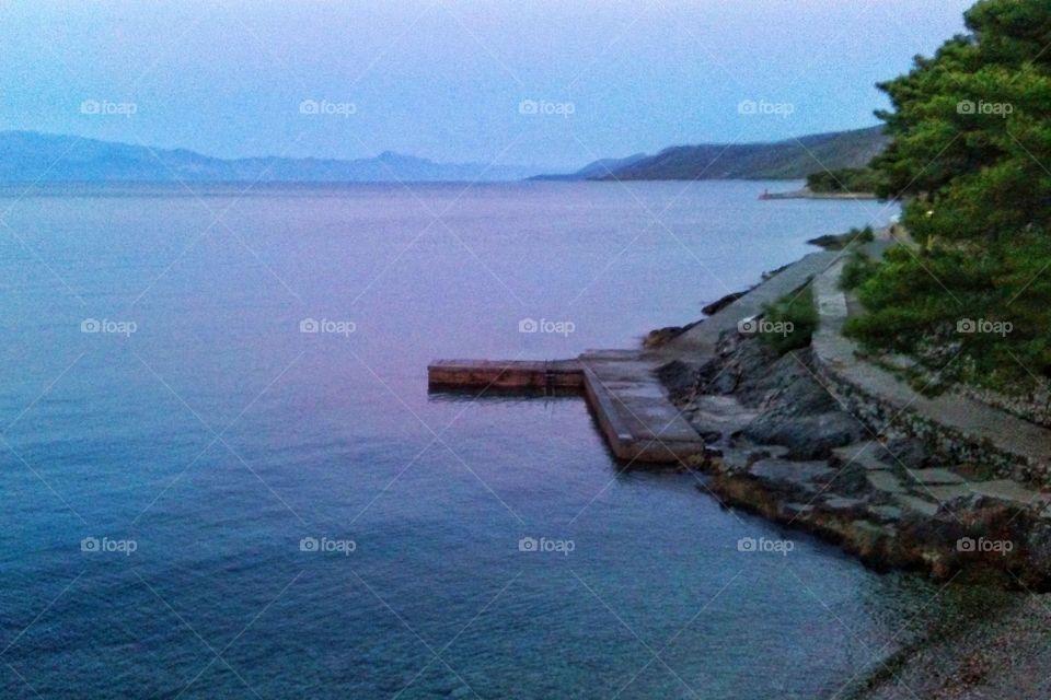 Jelsa. Island Hvar Adriatic Sea